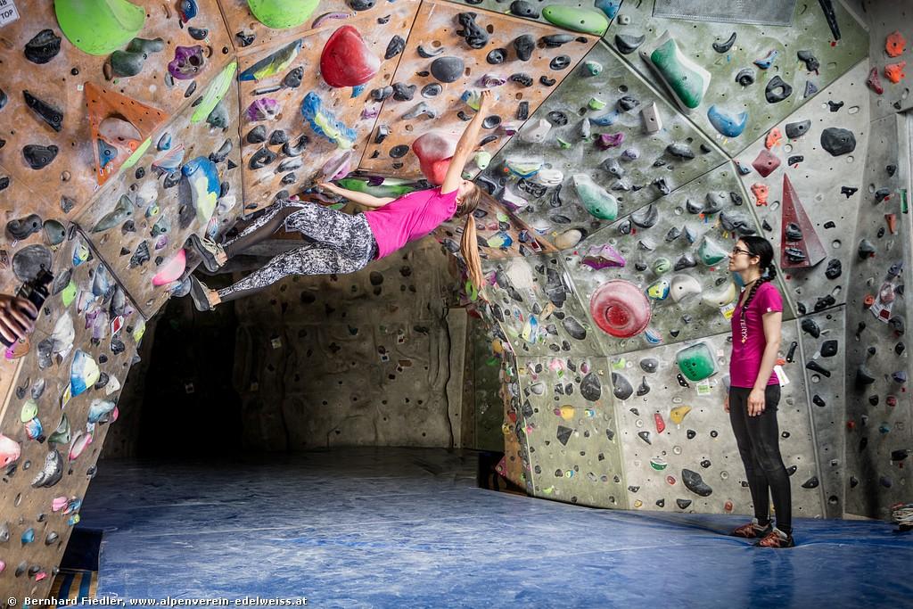 Bouldern <BR>Kompaktkurs