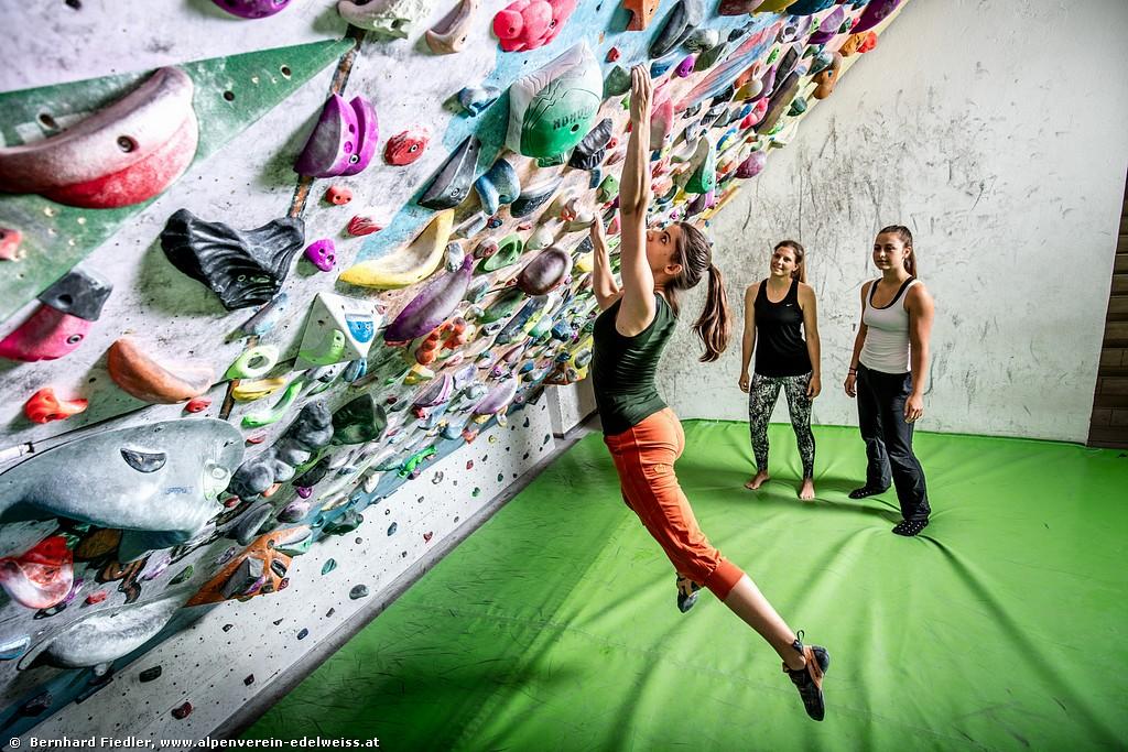 Workshops & Bouldern <BR>für KletterInnen