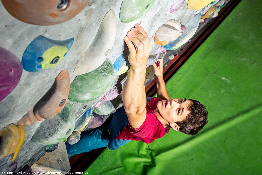 Workshop <BR>Dynamisch Bouldern