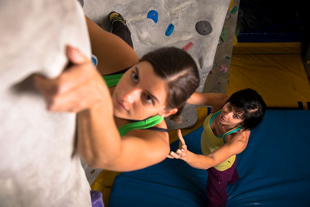 Bouldern 4 ladies only Basic/Basic+