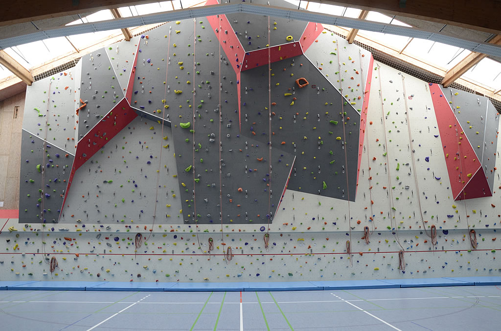 Freier Kletterbetrieb am KletterCampus