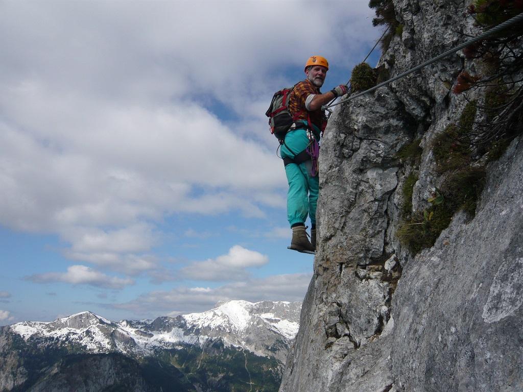 Klettersteigkurse für Fortgeschrittene:
