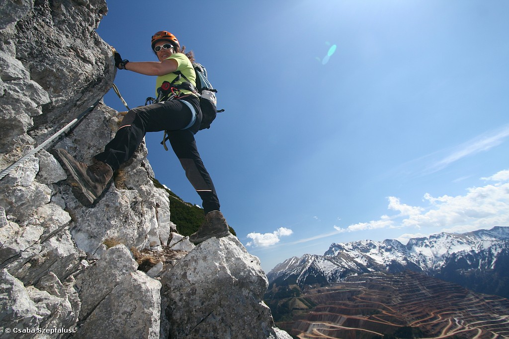 Klettersteigführungen ein- oder mehrtägig:
