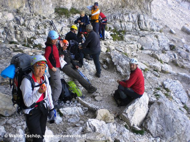 Klettersteig- Wochenende