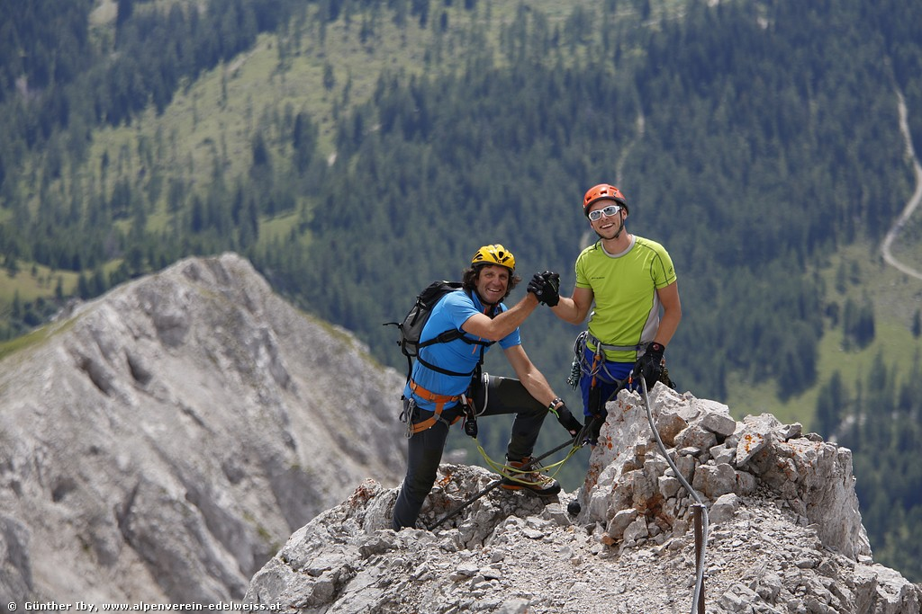 Bergtour Zugspitze Jubiläumsgrat