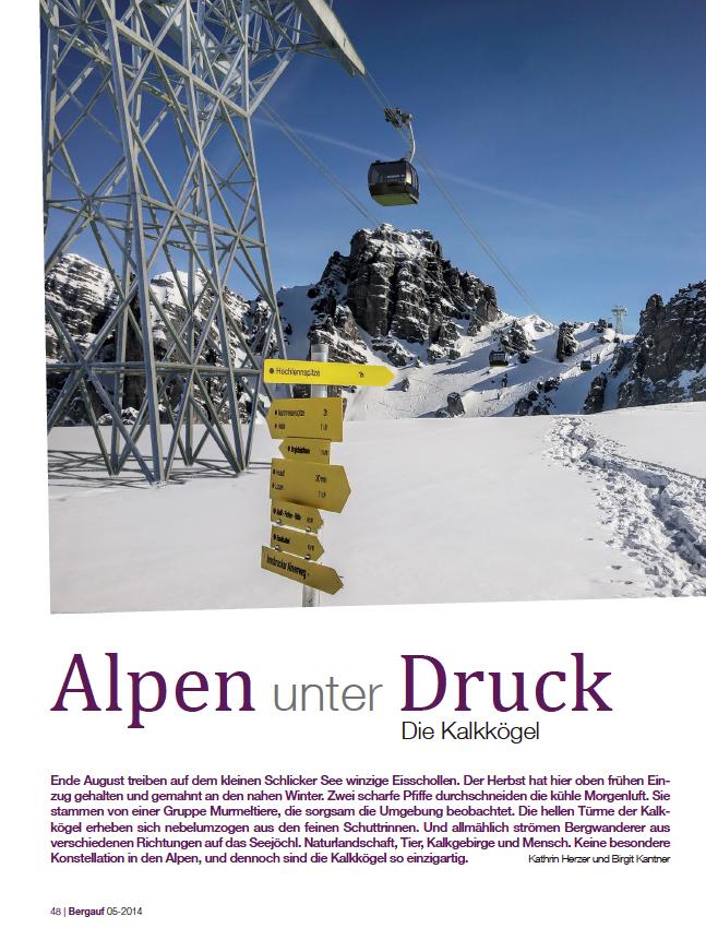 Alpen unter Druck - Die Kalkkögel