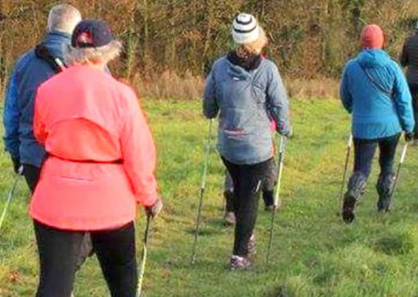 NEU: Nordic Walking-Kurse für Best Agers!