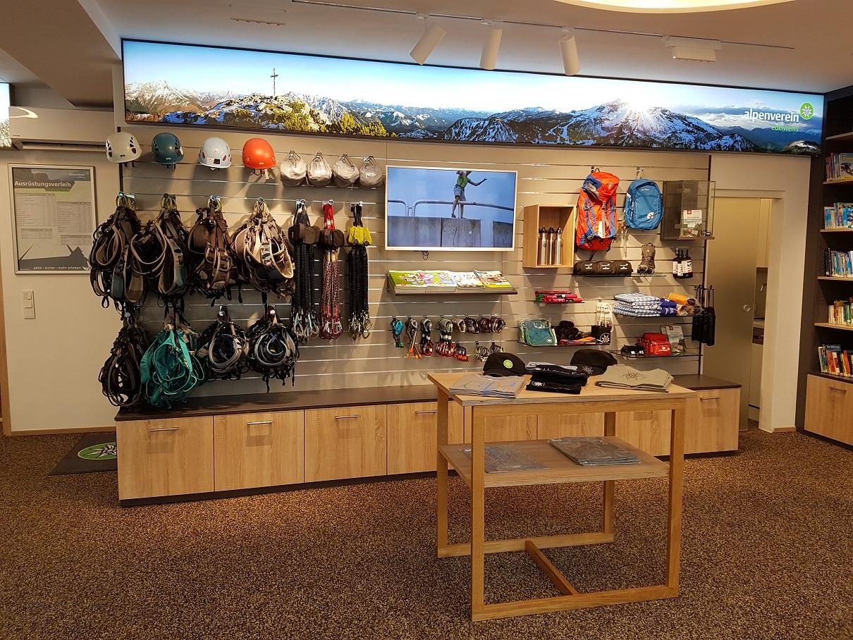 Shop & Verleih: Neue Öffnungszeiten