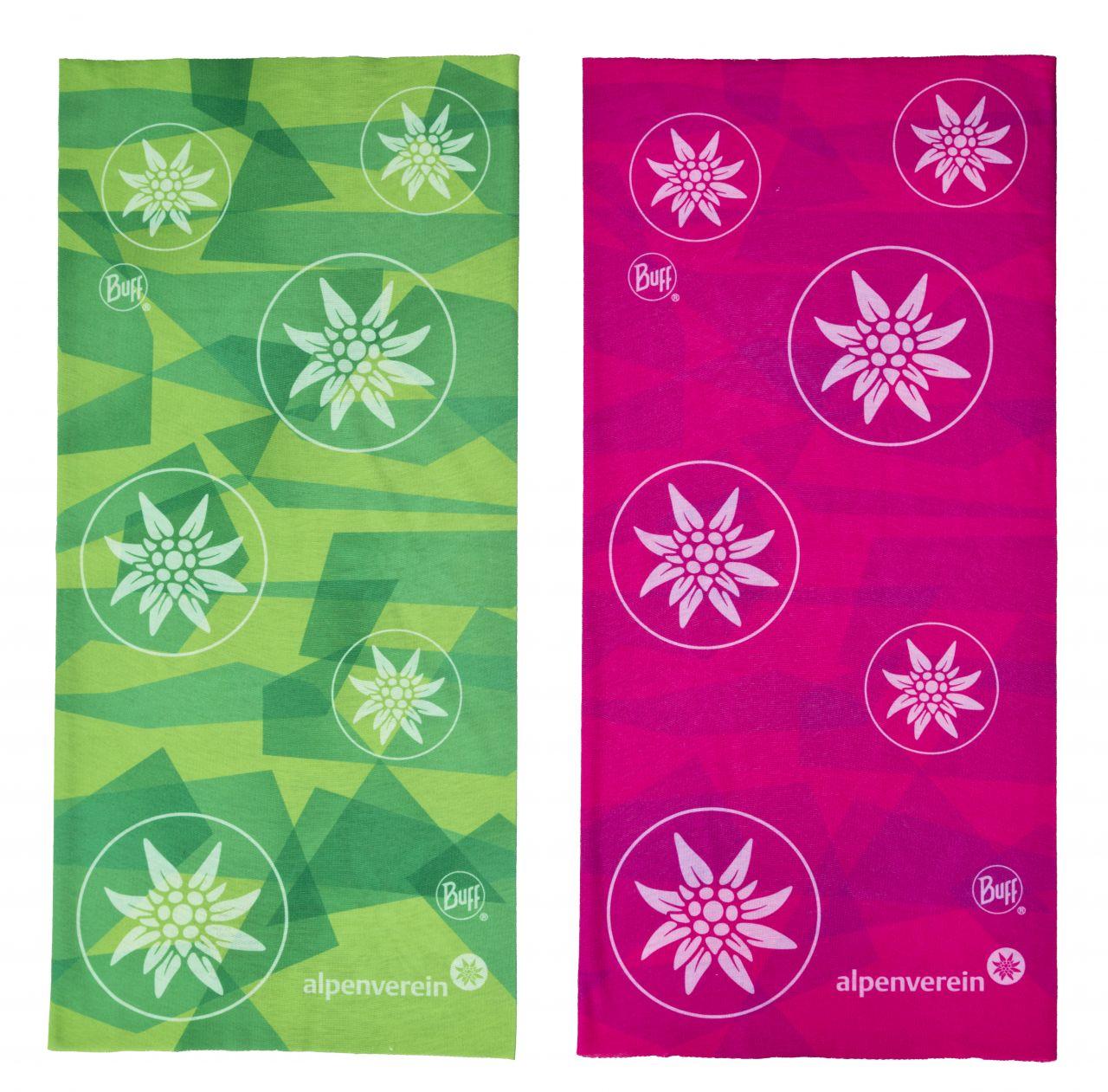 Schlauchtuch/Buff pink und grün