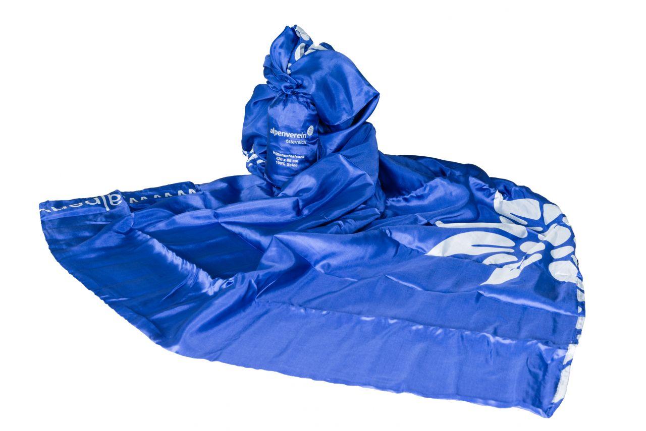Hüttenschlafsack Seide