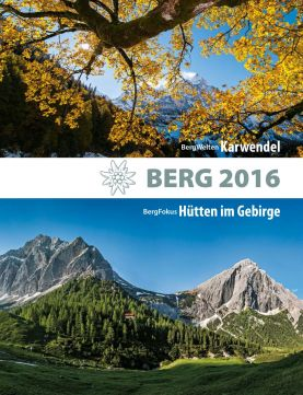 BERG 2016: Das traditionsreiche Jahrbuch des Alpenverein.