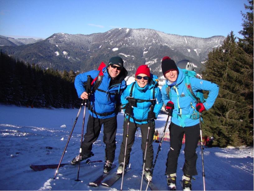 Skitouren mit der Edelweiss-Jugend