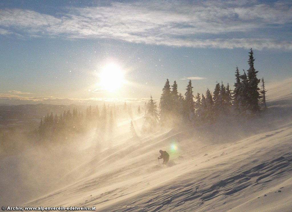 Skitechnik zu Saisonbeginn