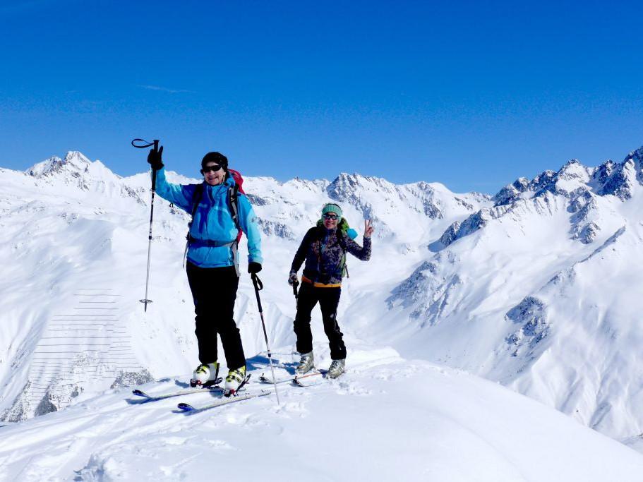 Für Skitouren-Geher läuft es bestens