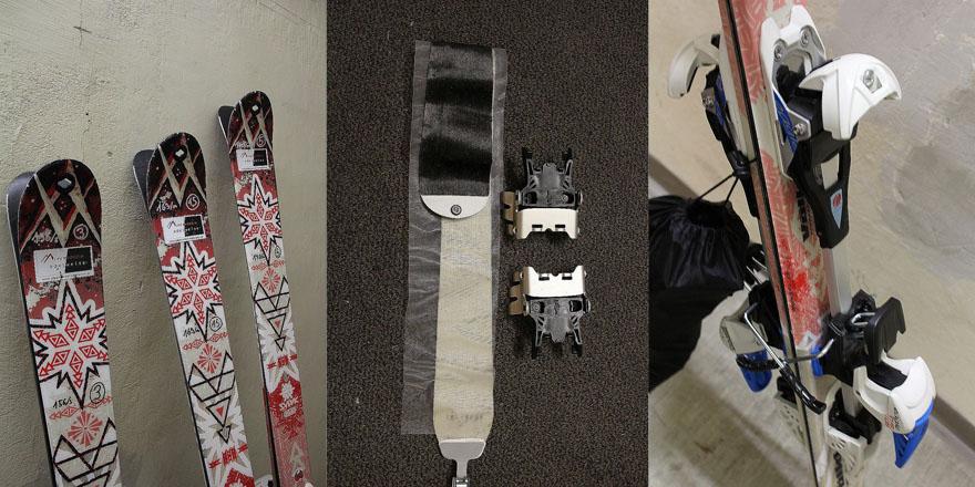 Set: Ski + LVS + Sonde + Schaufel