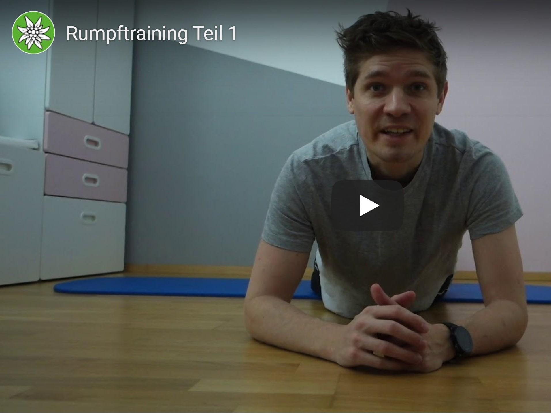 Rumpftraining <BR>Teil 1