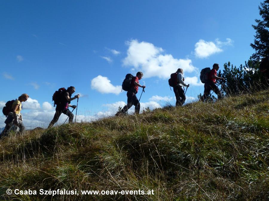 Entschleunigung am Lasörling-Höhenweg