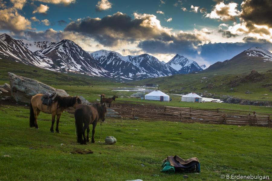 Trekkingabenteuer in der Westmongolei