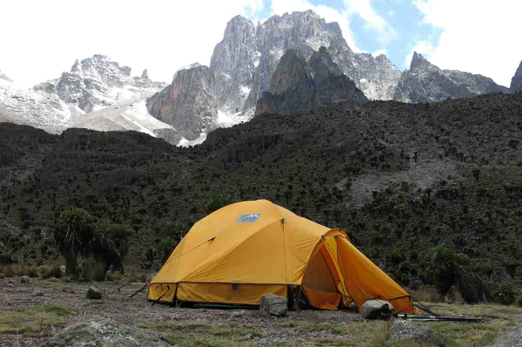 Trekking am Mt. Kenya