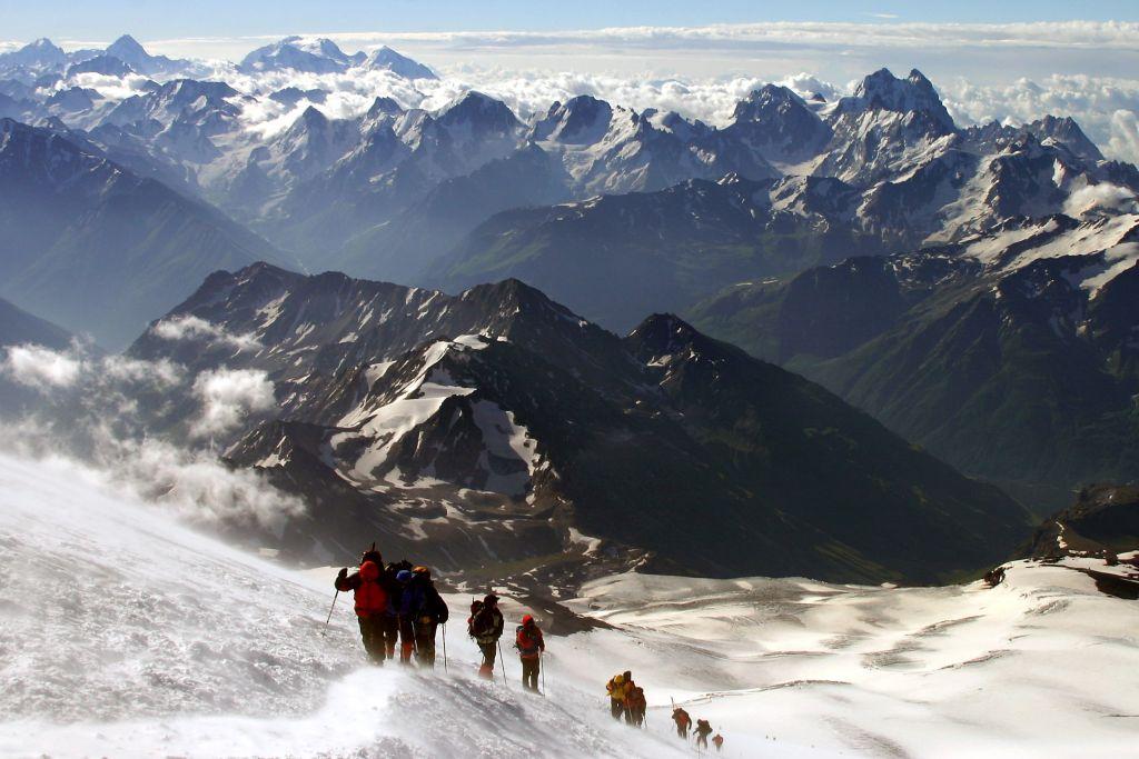Besteigung Elbrus + Kazbek