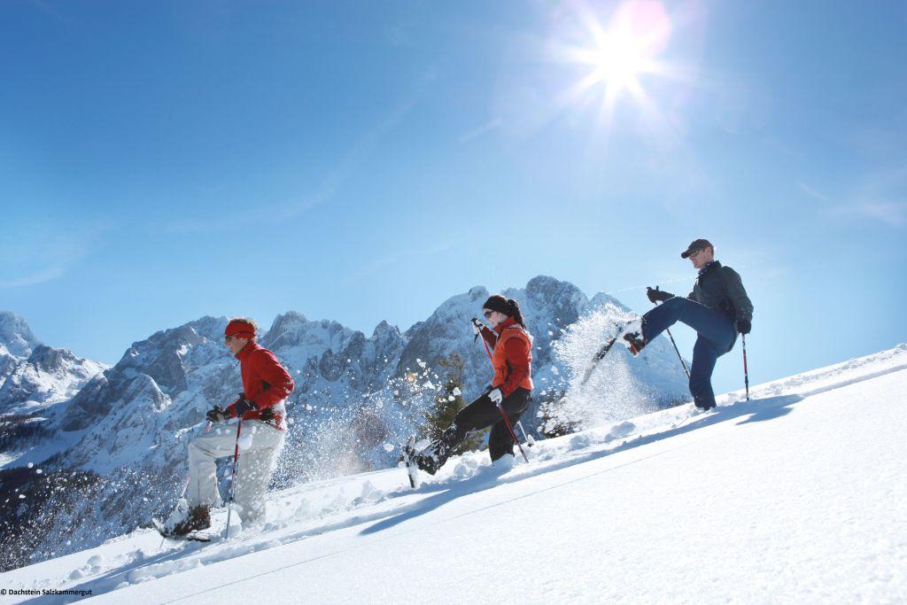 Schneeschuhwandern auf dem Dachstein