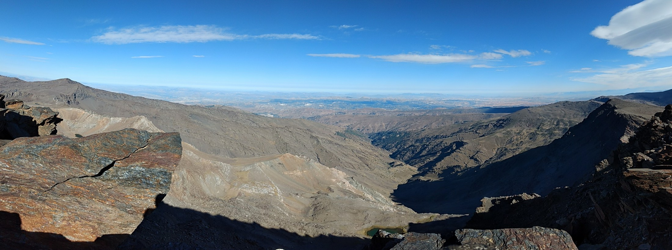 Gipfeltouren in der Sierra Nevada