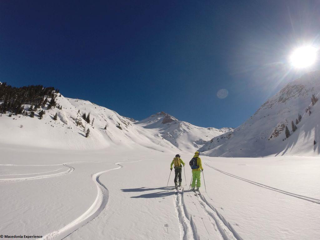Reise des Monats: Skitourenparadies Mazedonien