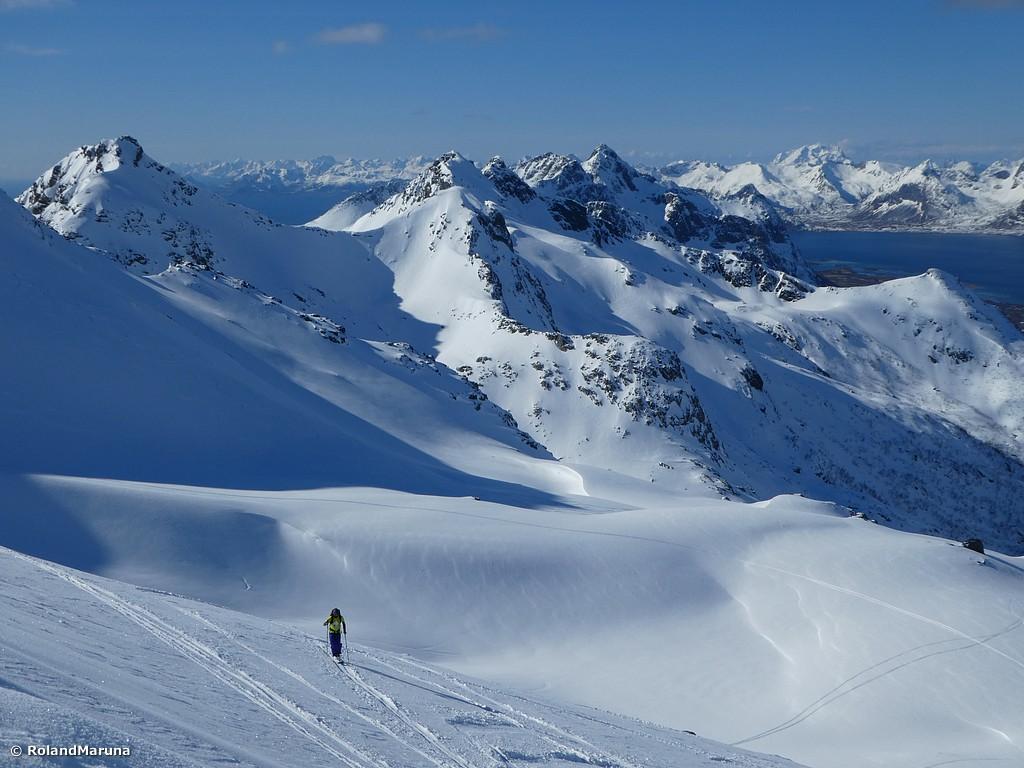 Reise des Monats: Genussskitouren auf den Lofoten