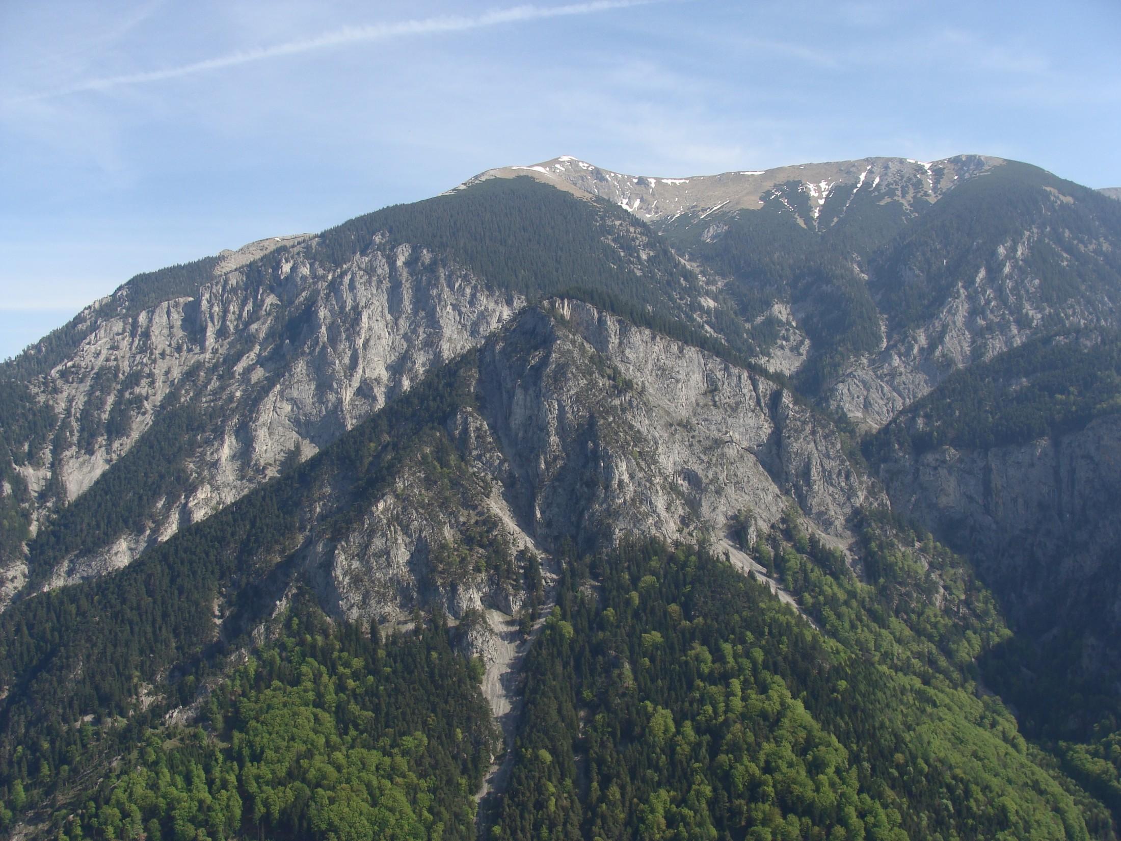 Der Schneeberg und sein Trabant