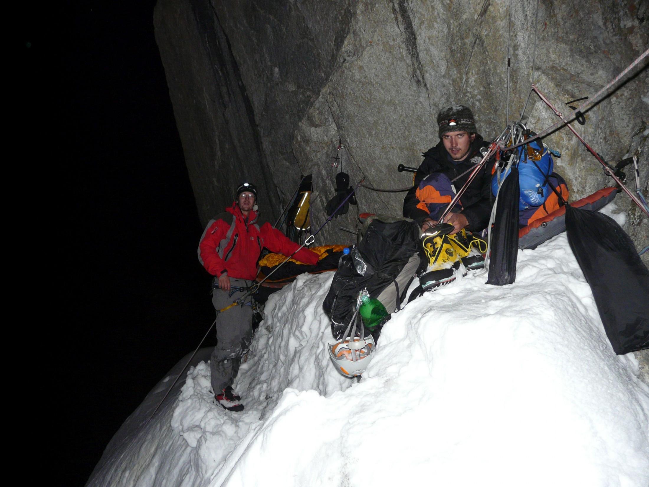 Survival im winterlichen Gebirge
