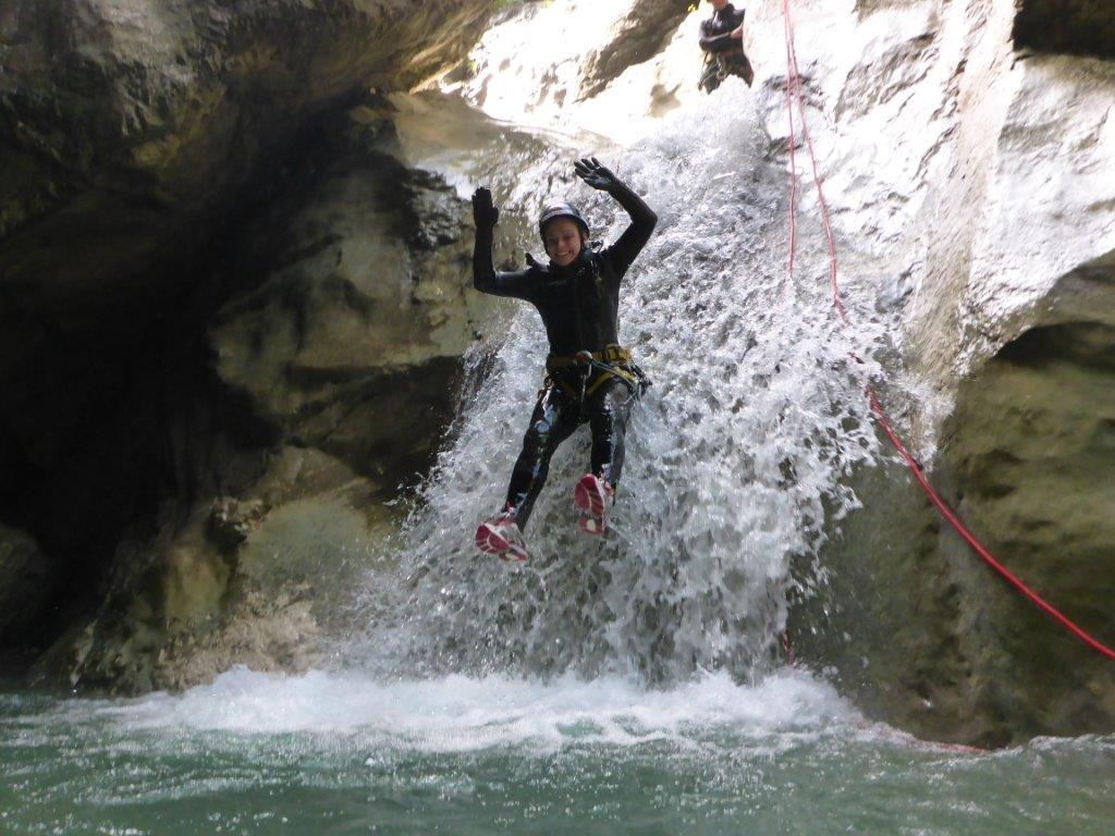 Canyoning für Einsteiger*innen