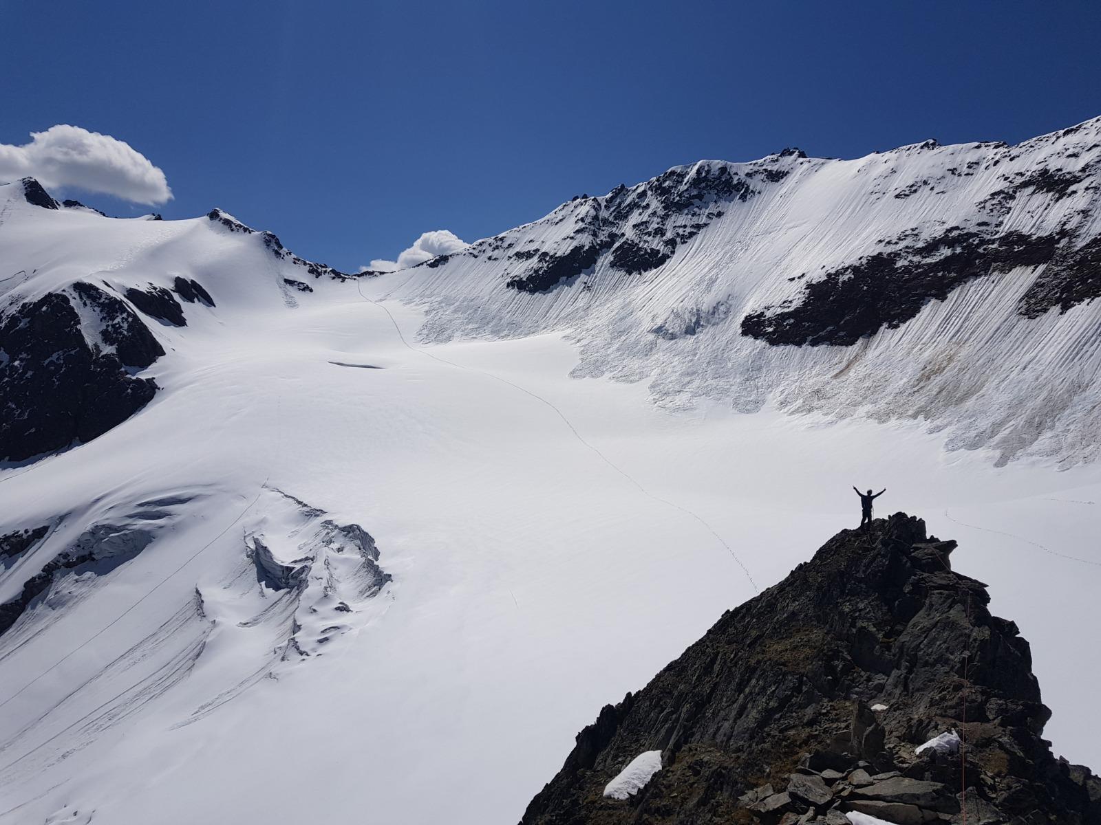 Zu den Gletscherbergen