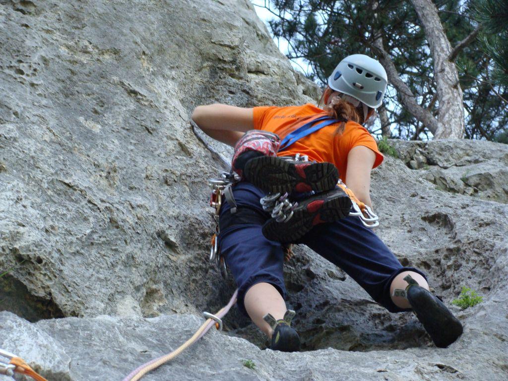 Klettern im Höllental