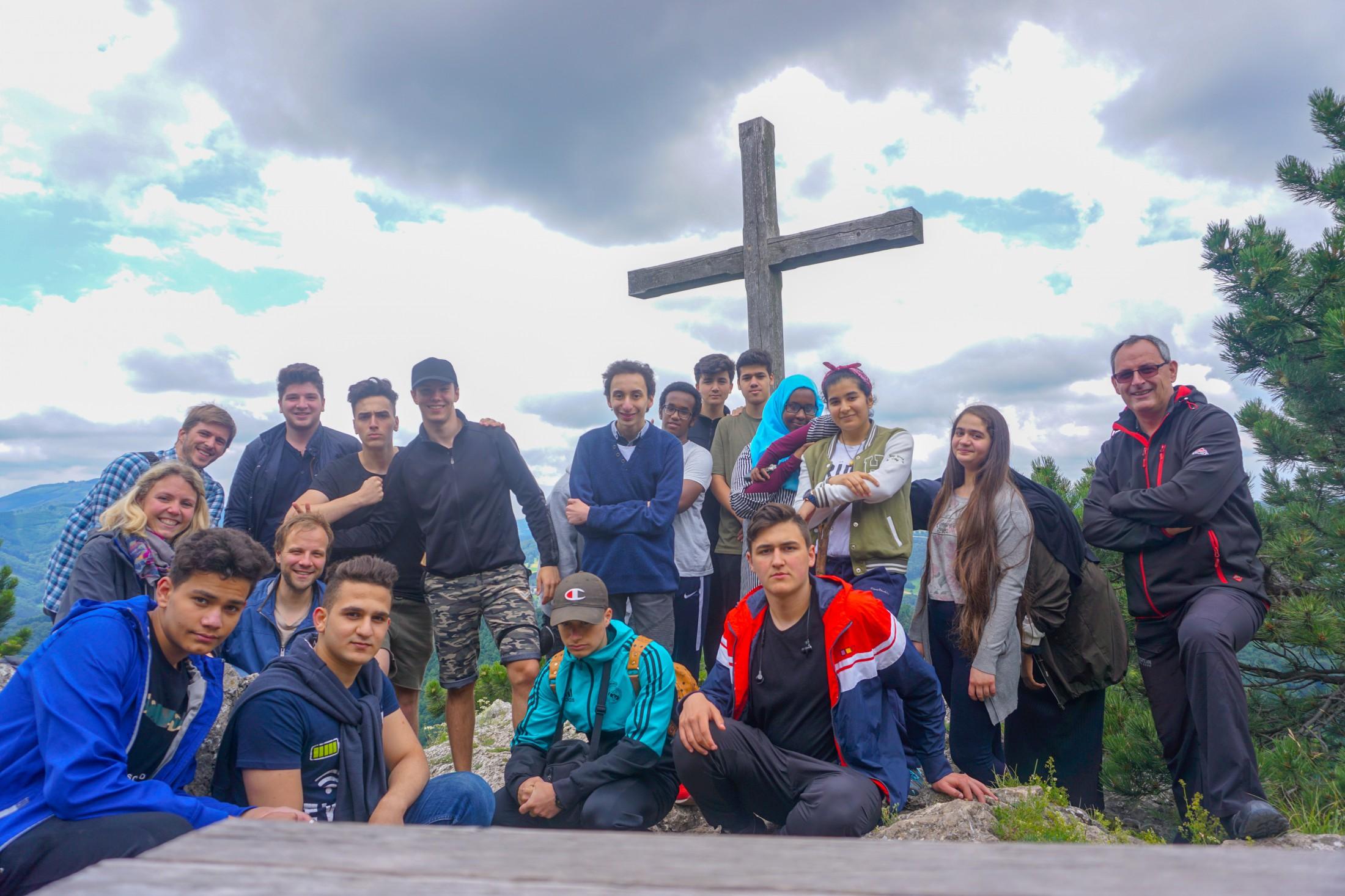 Wandern u. Österreich als neue Heimat