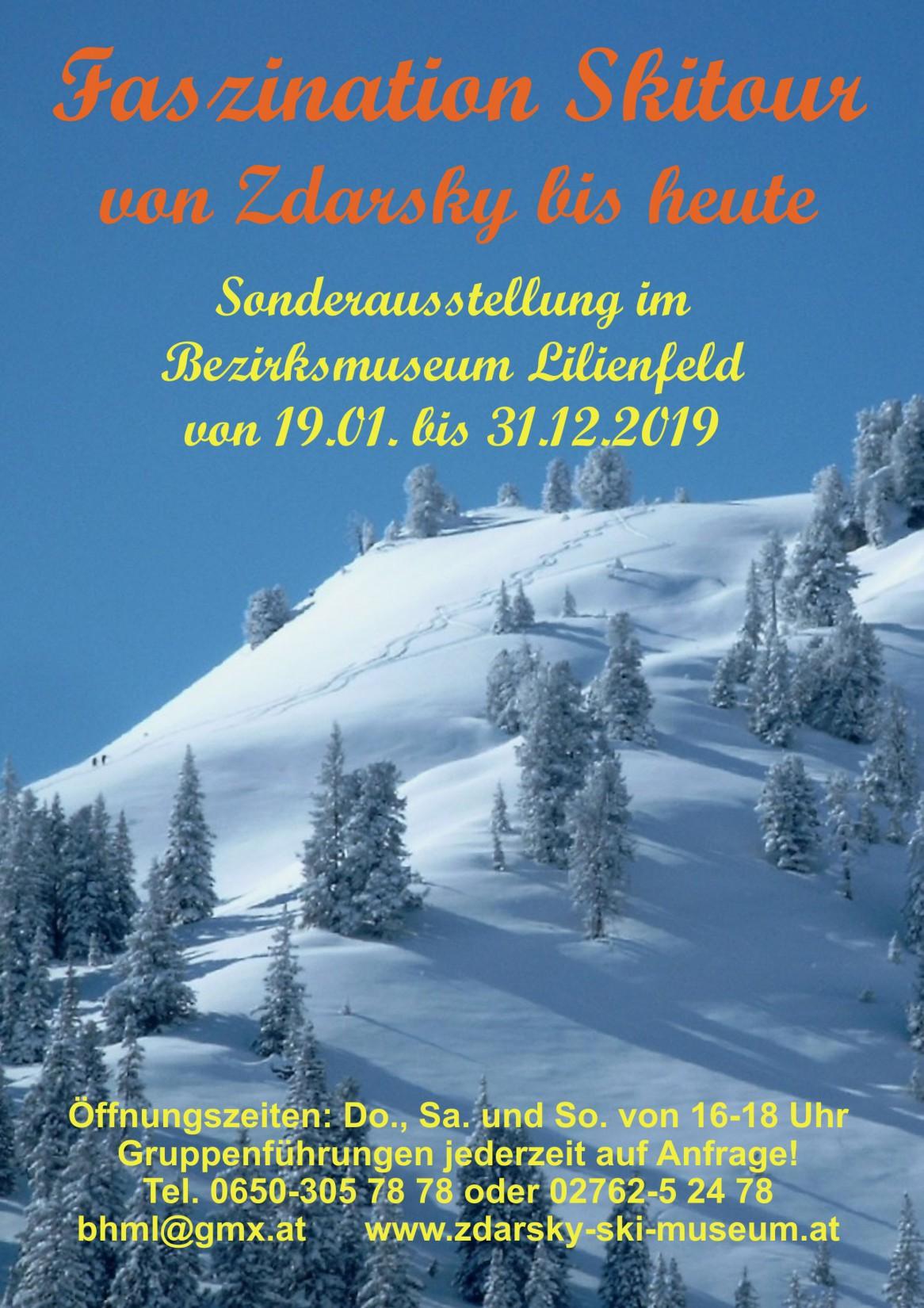 Faszination Skitour – von Zdarsky bis heute