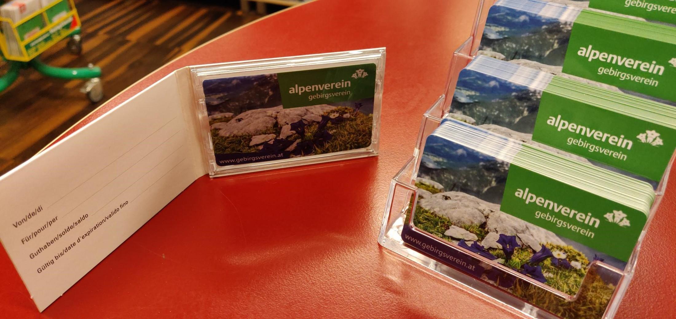 Gebirgsverein-Giftcard