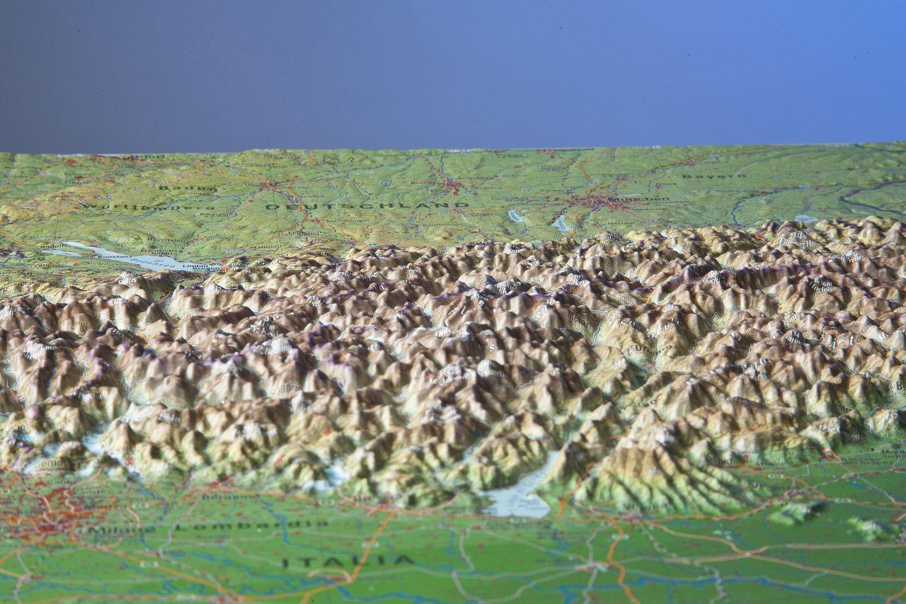 Die Alpen zum Angreifen