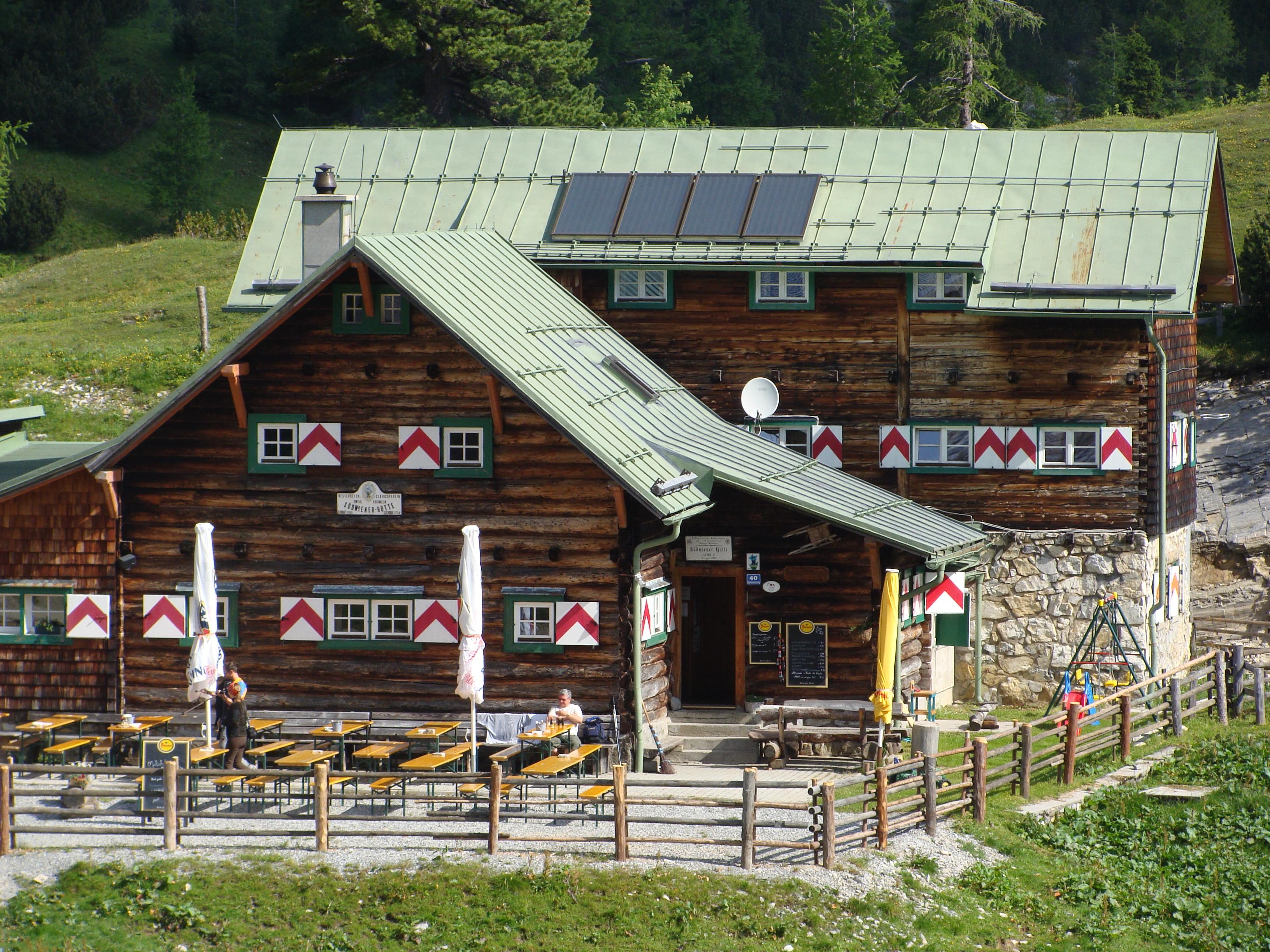Südwiener Hütte zu verpachten