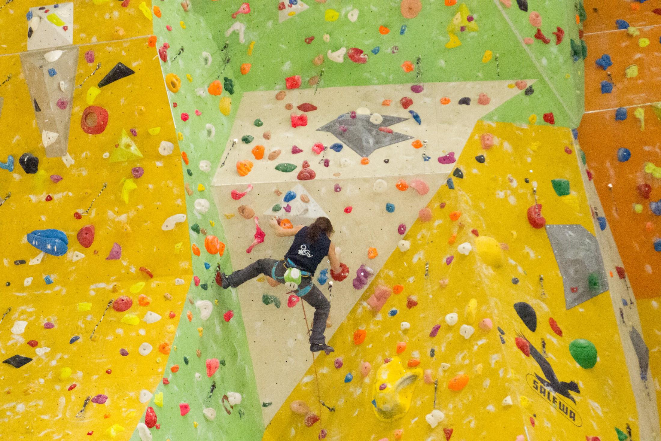 Podestplätze für das Climbing-Team