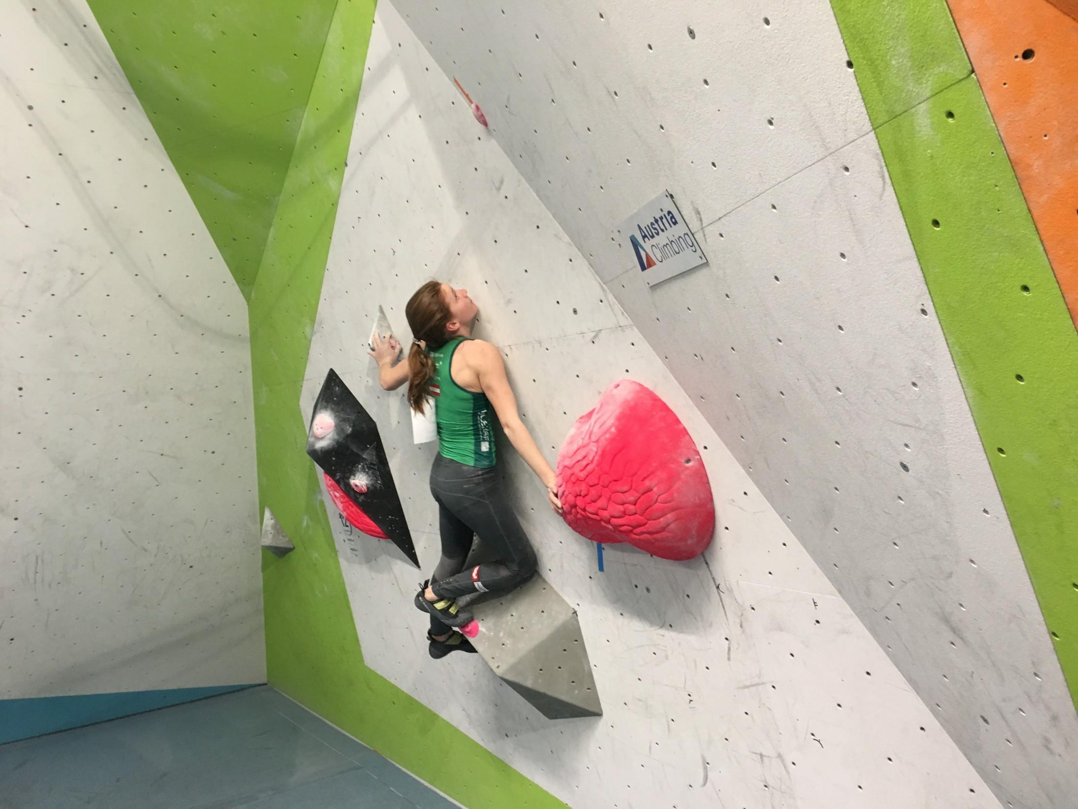 Erfolge beim Austria Climbing Boulder, Bürs 22.4.2017!