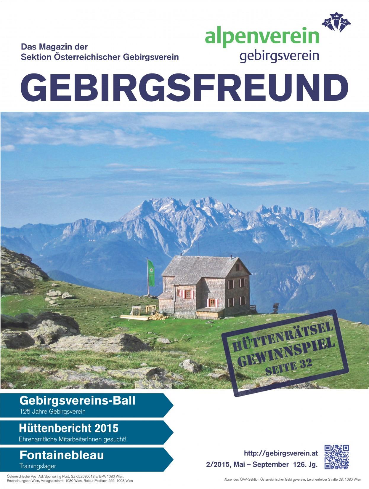Gebirgsfreund 2-2015