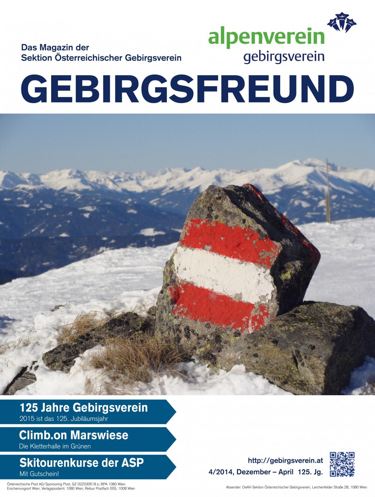 Gebirgsfreund 4-2014