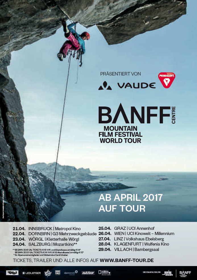 Banff Mountain Film Festival - 26.04 Wien