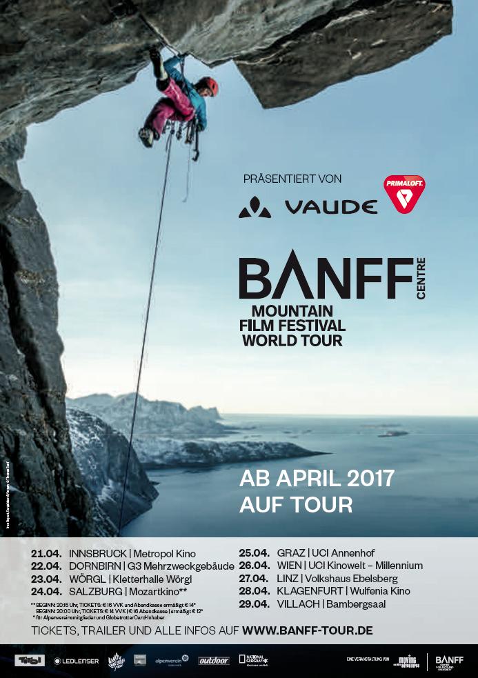Banff Mountain Film Festival - 26.04 Wien
