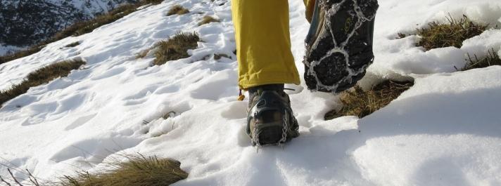 Sicherheitshinweise für Schneefelder