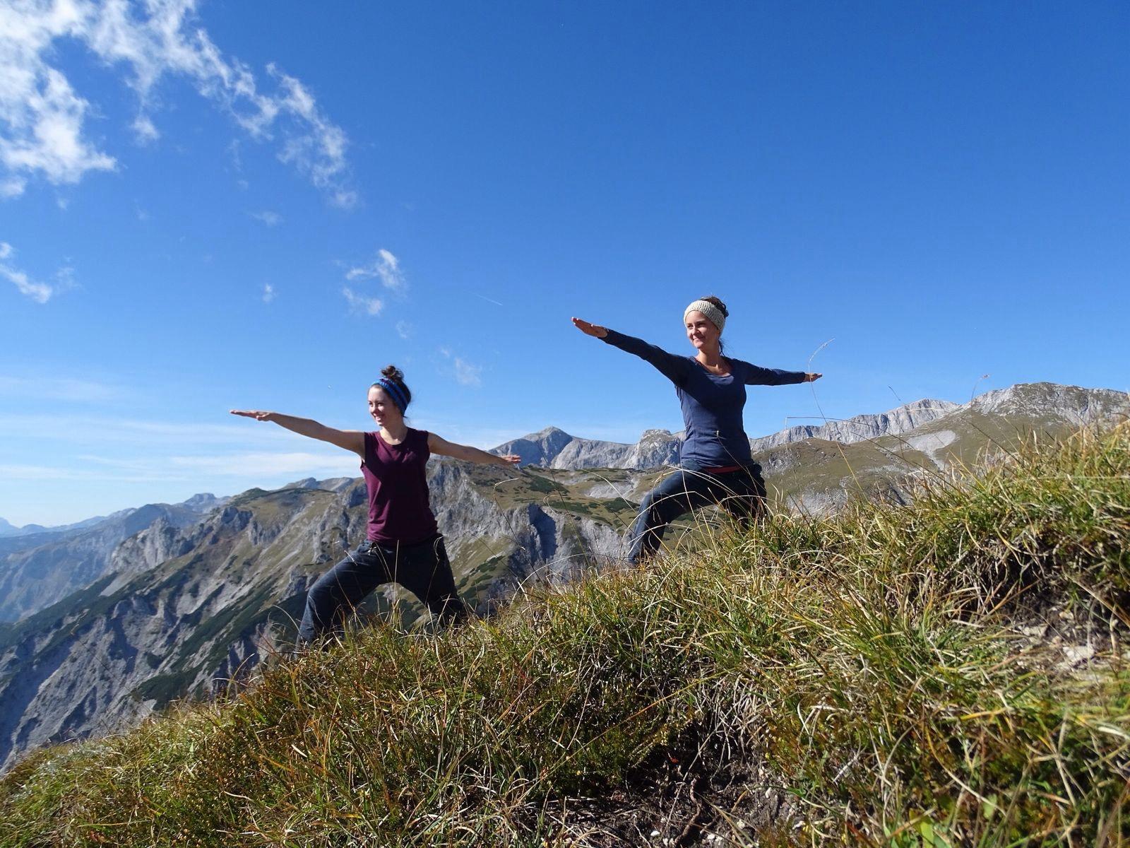 Yoga <BR>für Bergsteiger