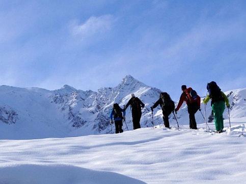 Wintersport und Wildtiere
