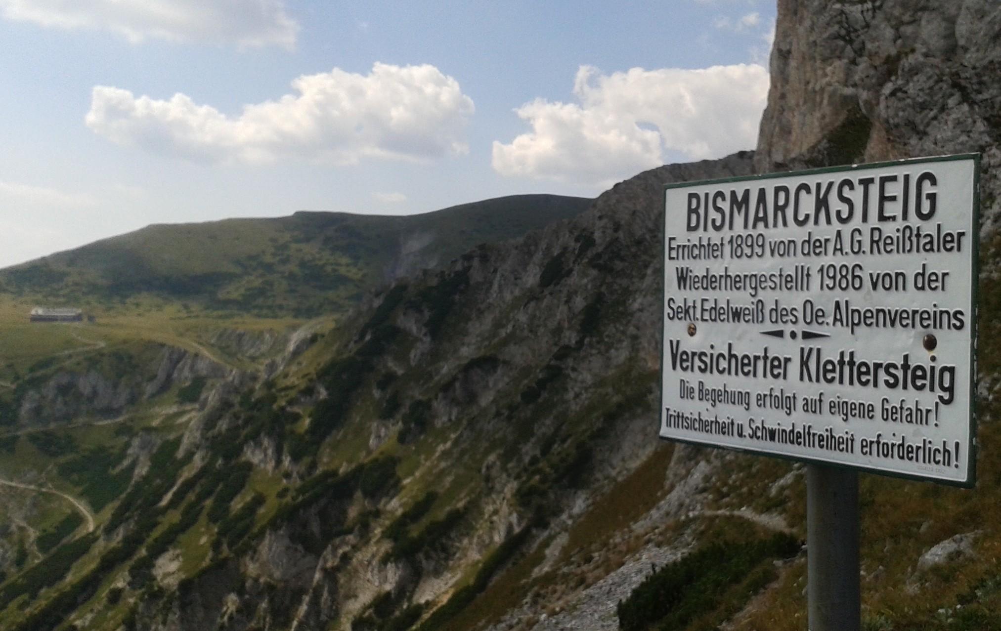 Klettersteig Sperre